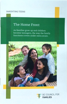 Parenting Teens: The Homefront