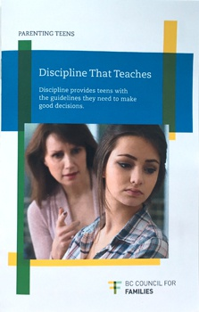 Parenting Teens: Discipline That Teaches